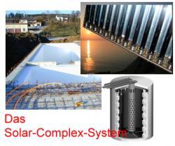 Alternative & Erneuerbare Energien News: Foto: Das Solar-Complex-System.