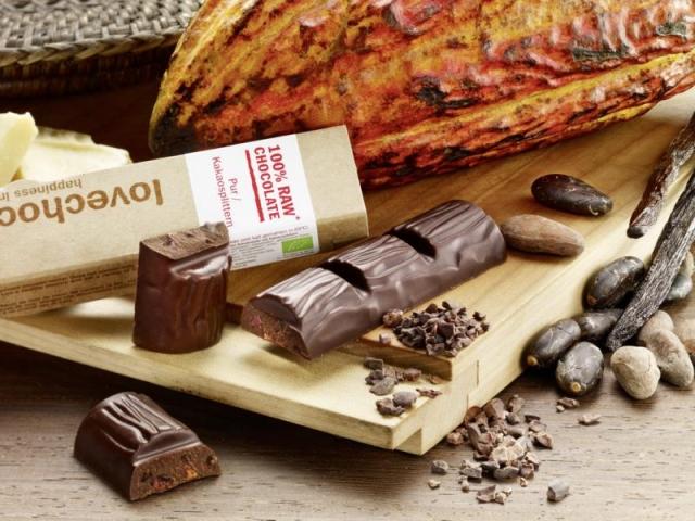 BIO @ Bio-News-Net | Lovechock: Pur-Kakaosplitter