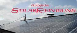 Alternative & Erneuerbare Energien News: Foto: ökologische SolarReinigung.