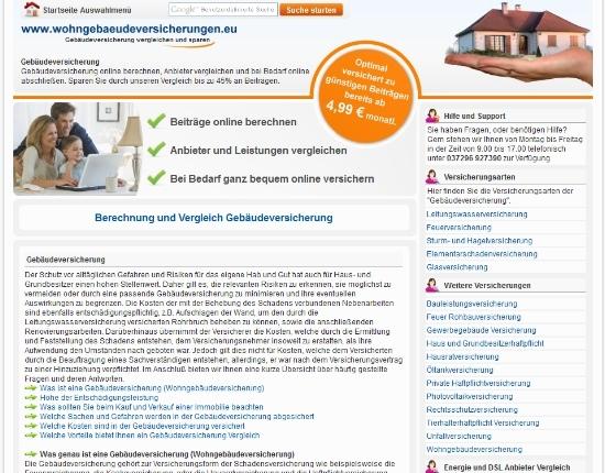 Versicherungen News & Infos | www.wohngebaeudeversicherungen.eu