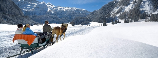 Restaurant Infos & Restaurant News @ Restaurant-Info-123.de | Die Gnadenalm in Obertauern - Pferdeschlittenfahrten