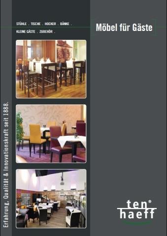 Restaurant Infos & Restaurant News @ Restaurant-Info-123.de | Der neue TENHAEFF Gastronomie Möbel Katalog