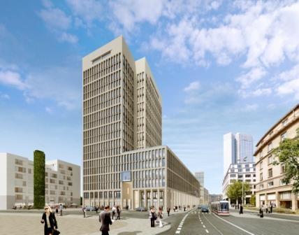 Versicherungen News & Infos | MainTor Porta, Frankfurt (Quelle: DIC)