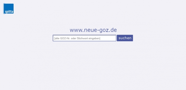 Direkter Vergleich GOZ 1988-2012 und Kommentierung online abrufbar