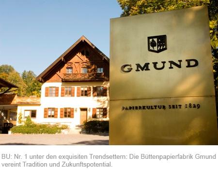 Rom-News.de - Rom Infos & Rom Tipps | Nr. 1 unter den exquisiten Trendsettern: Die Büttenpapierfabrik Gmund vereint Tradition und Zukunftspotential.