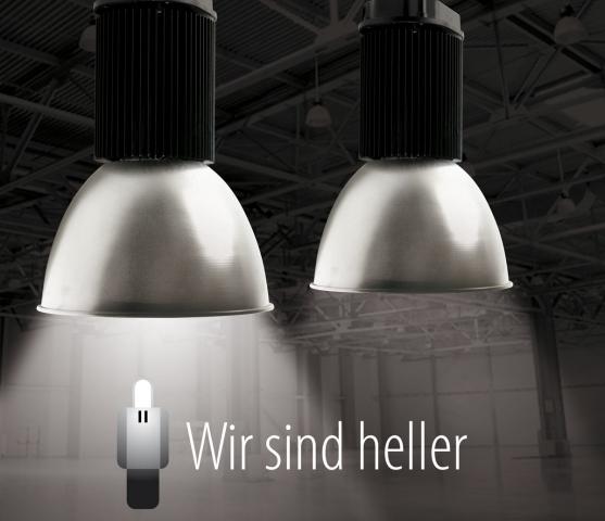 Nordrhein-Westfalen-Info.Net - Nordrhein-Westfalen Infos & Nordrhein-Westfalen Tipps | Dimmbare LED Hallenstrahler von Wir sind heller