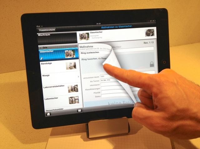 Tablet PC News, Tablet PC Infos & Tablet PC Tipps | Mobiles Qualitätsmanagement nach HACCP-Konzept, IFS und BRC als App auf dem iPad.