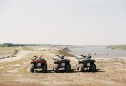 Chat News & Chat Infos @ Chats-Central.de | Ost Nachrichten / Osten News - Foto: Quadfahrer in der Lausitzer Wüste.