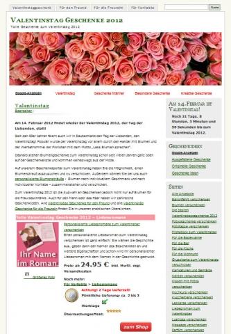 Rom-News.de - Rom Infos & Rom Tipps | Am 14. Februar 2012 ist wieder Valentinstag