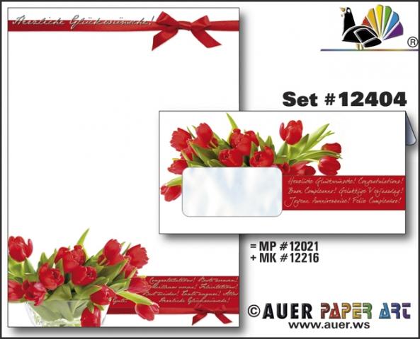 Shopping -News.de - Shopping Infos & Shopping Tipps | Auer Paper Art Glückwunsch Papier im Set mit Kuverts