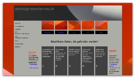 Luxus Webdesign München