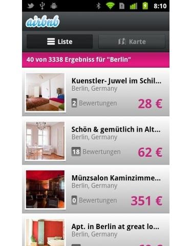 Hamburg-News.NET - Hamburg Infos & Hamburg Tipps | Mobiler Zugriff auf die Airbnb-Services mit der Android-App