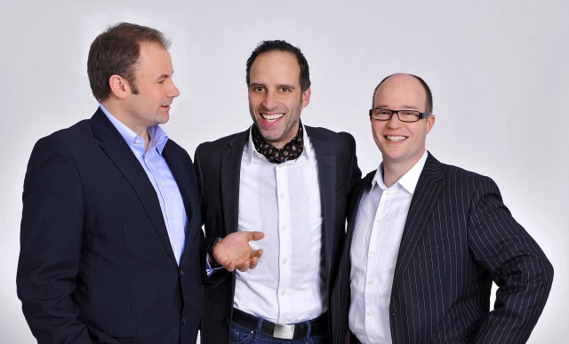 Niedersachsen-Infos.de - Niedersachsen Infos & Niedersachsen Tipps | Die Geschäftsführung von neuwaerts (v.l. n. r. : Jörn Hutecker, Markus Herwig, Ingo Stoll)