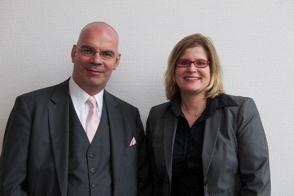 Versicherungen News & Infos | Karin van Soest-Schückhaus, Geschäftsführerin marvice GmbH, Jürgen Brink, Geschäftsführer b.cd GmbH