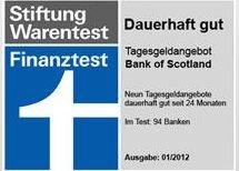 Testberichte News & Testberichte Infos & Testberichte Tipps | Tagesgeldrechner.info - Bank of Scotland Tagesgeld + 30 Euro