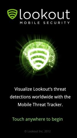 CMS & Blog Infos & CMS & Blog Tipps @ CMS & Blog-News-24/7.de | Mobile Threat Tracker Willkommensbildschirm