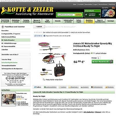 Radio Infos & Radio News @ Radio-247.de | RC Hubschrauber Modelle bei kotte-zeller.de kaufen
