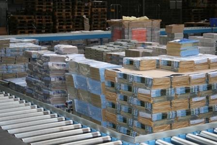 Fördertechnik von AMI modernisiert Logistikzentrum von OHL