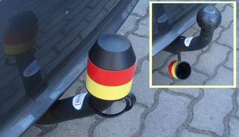 Auto News | Der Haltering an der Schutzkappe für die Anhängerkupplung schützt vor Verlust