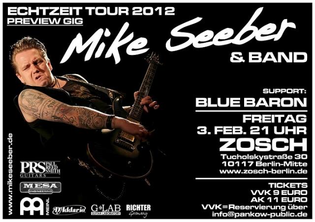 Thueringen-Infos.de - Thüringen Infos & Thüringen Tipps | Mike Seeber und Band gehen auf ECHTZEIT TOUR 2012