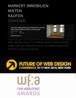 Ost Nachrichten & Osten News | Foto: Design Preis für David Grasekamp: mowaii gewinnt in New York den ersten internationalen Web Font Awards.