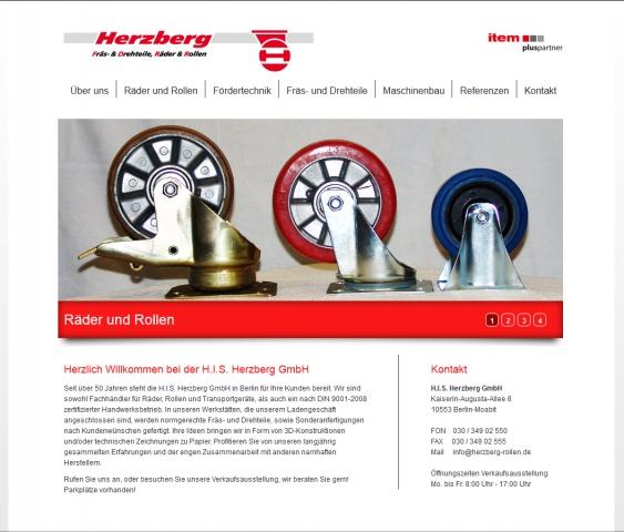 Berlin-News.NET - Berlin Infos & Berlin Tipps | Neuer Internetauftritt der H.I.S. Herzberg GmbH