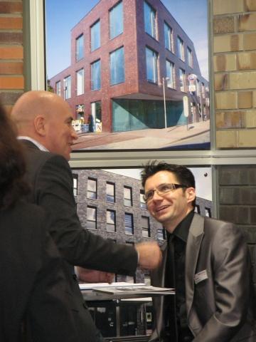 Für Marcel Lohmann, Marketingleiter des Klinkerwerkes Hagemeister, bleibt die DEUBAU auch in Zukunft eine wichtige Hausmesse.