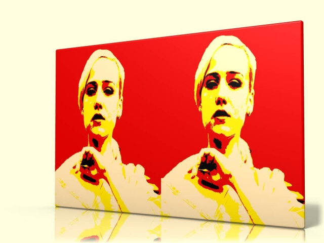 Einkauf-Shopping.de - Shopping Infos & Shopping Tipps | Ein Pop-Art-Porträt als Liebesbeweis