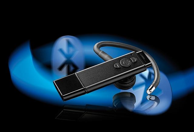Europa-247.de - Europa Infos & Europa Tipps | Callstel Superschlankes Bluetooth-Headset XHS-650w mit kabelloser Ladefunktion