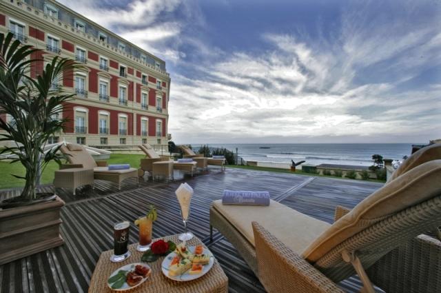 Frankreich-News.Net - Frankreich Infos & Frankreich Tipps | Zauberhafter Ort, luxuriöses Ambiente, wunderschöne Kulisse - das Hotel du Palais Biarritz