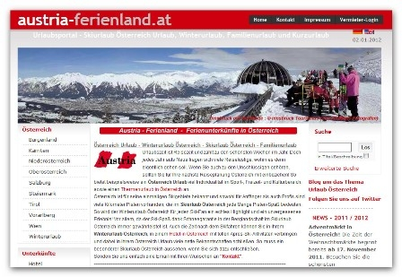 Hotel Infos & Hotel News @ Hotel-Info-24/7.de | Österreich Urlaub