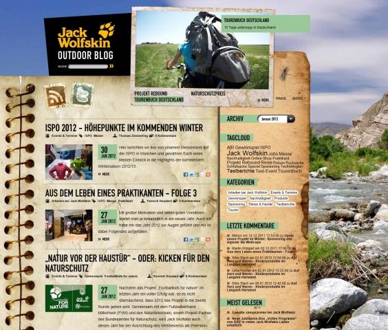 Italien-News.net - Italien Infos & Italien Tipps | Die Startseite des Corporate Blogs der Jack Wolfskin GmbH & Co. KGaA