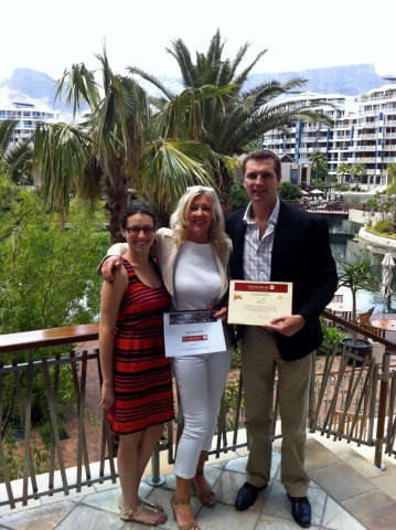 Italien-News.net - Italien Infos & Italien Tipps | Preisuebergabe WbaPR Next Top Client