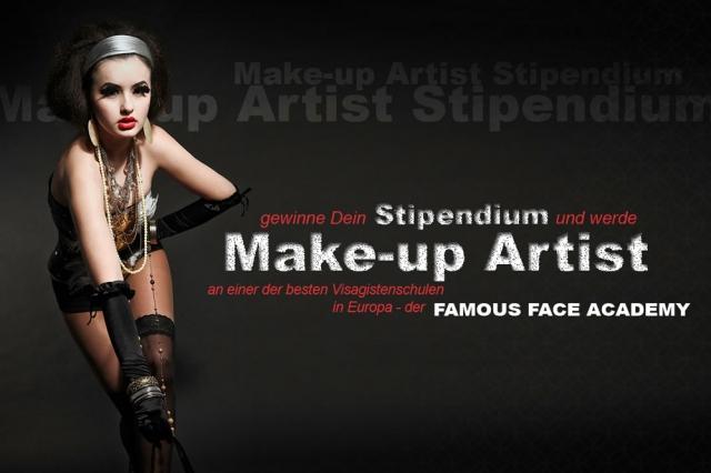 Gutscheine-247.de - Infos & Tipps rund um Gutscheine | Die Famous Face Academy sucht Dich! Bewerbe Dich bis zum 13.02. und mit etwas Glück gewinnst Du das Stipendium zur Make-up Artist Ausbildung