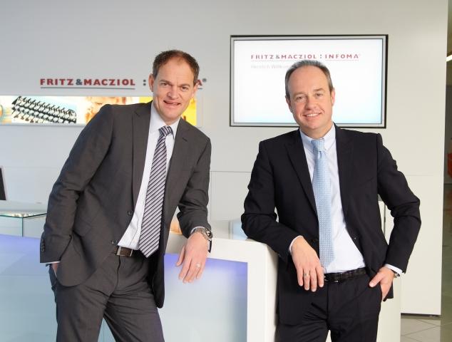 Hardware Infos & Hardware Tipps @ Hardware-News-24/7.de | Oliver Schallhorn (links) und Heribert Fritz, FRITZ & MACZIOL-Geschäftsführer