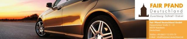 Auto News | Baut ein flächendeckendes Netz an Pfandleihhäusern in Deutschland auf: Fair Pfand Deutschland GmbH.