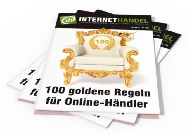 Tickets / Konzertkarten / Eintrittskarten | Internethandel.de zum 100. Jubiläum: Ein besonderes Angebot