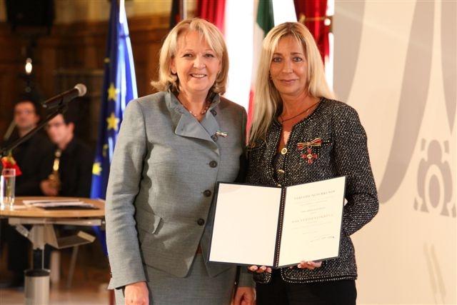 Duesseldorf-Info.de - Düsseldorf Infos & Düsseldorf Tipps | Ministerpräsidentin Hannelore Kraft mit Kirsten Kuhnert
