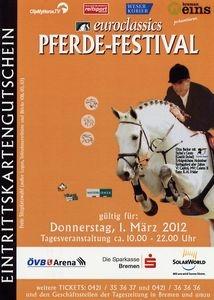 Testberichte News & Testberichte Infos & Testberichte Tipps | Lust auf großen Reitsport in Bremen? www.mit-Pferden-reisen.de verlost 30 Karten für das Pferdefestival in Bremen