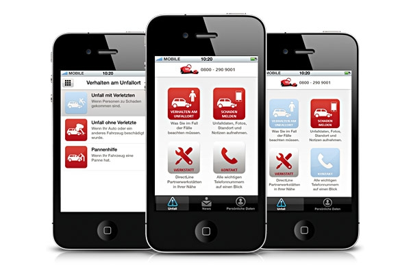 App News @ App-News.Info | Die Autounfall-App überzeugte die Jury des