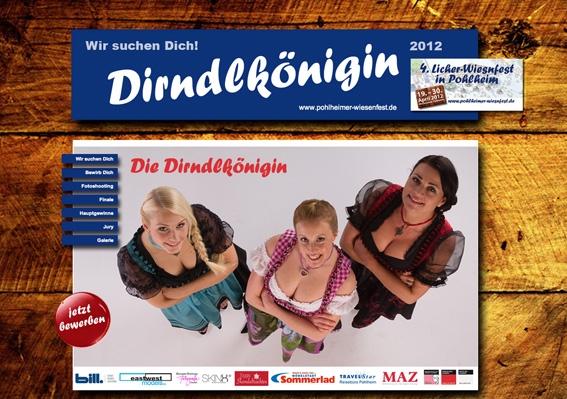 Frankfurt-News.Net - Frankfurt Infos & Frankfurt Tipps | Wir suchen Dich! Die Pohlheimer Wiesen kürt die Dirndlkönigin 2012!