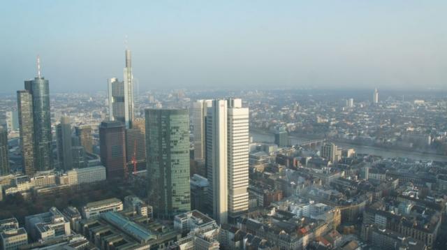 Frankfurt-News.Net - Frankfurt Infos & Frankfurt Tipps | Ausblick über Frankfurt aus der SkyLounge