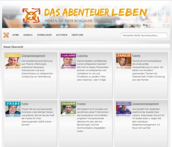 Podcasts @ Open-Podcast.de: Weiterbildung für die Ohren auf