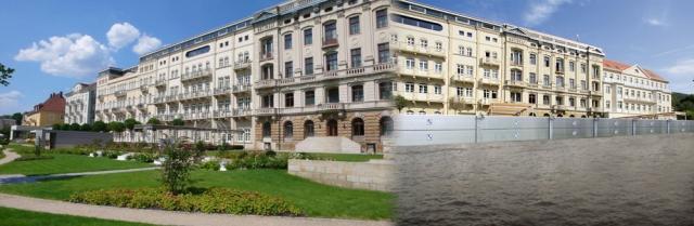 Tier Infos & Tier News @ Tier-News-247.de | Pure Stadtidylle! Um diese zu bewahren, setzen Hotels und weitere öffentliche Gebäude zum Schutz ihrer Gäste Hochwasserschutzsysteme ein. Diese halten gefährliche Wassermengen ab.