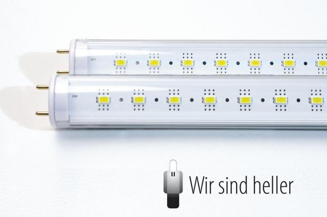 Technik-247.de - Technik Infos & Technik Tipps | Professionelle, VDE geprüfte LED Röhren von Wir sind heller