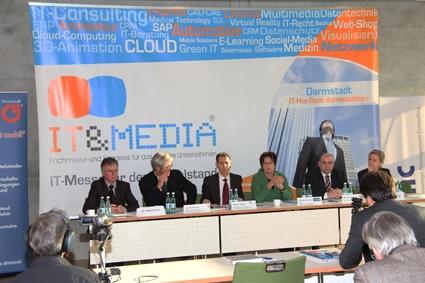 Die Fachmesse IT&Media wurde Anfang Februar auf einer großen Pressekonferenz offiziell vorgestellt.
