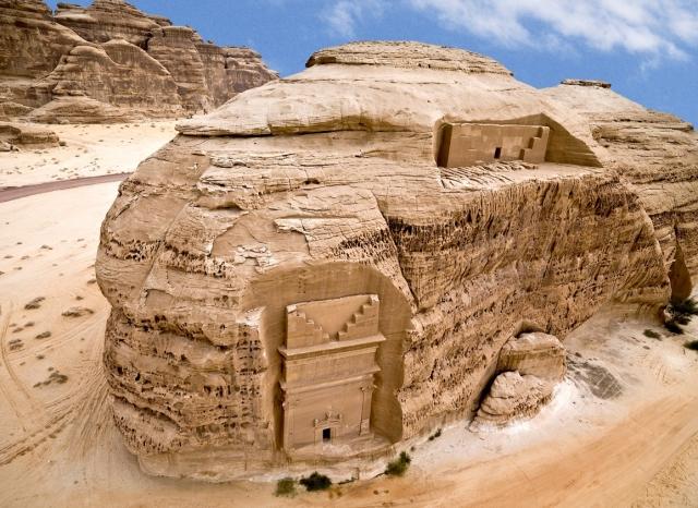 Berlin-News.NET - Berlin Infos & Berlin Tipps | Sie gehören zum Weltkulturerbe: die archäologischen Stätten von Al-Hijr (Madain Salih).