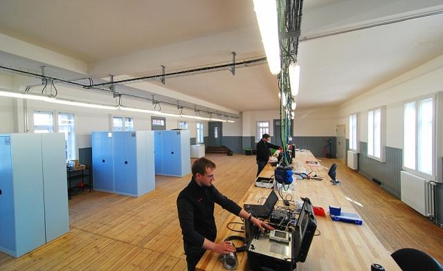 Hessen-News.Net - Hessen Infos & Hessen Tipps | Helle und freundliche Arbeitsplätze im Inneren der Zigarrenfabrik