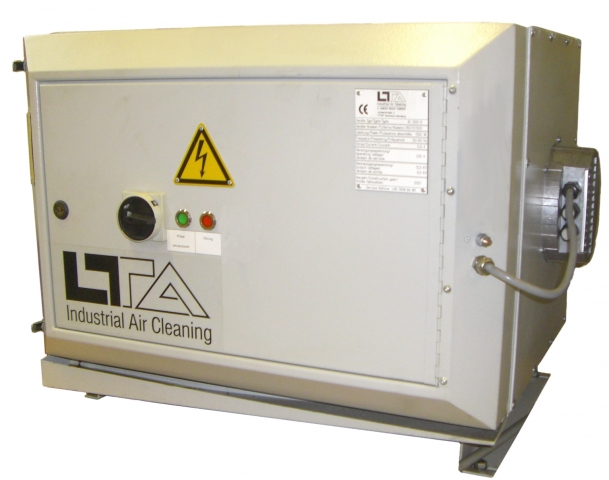 Flatrate News & Flatrate Infos | LTA Luftfilter Typ AC 3001 mit EC-Gebläse