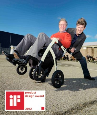 Auto News | Der Rollz Motion - Rollator und Rollstuhl in einem